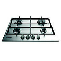 Indesit Aria THA 642 IX/I Gas Hob - Stainless Steel