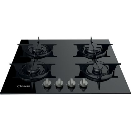 indesit aria pr 642 ibk uk gas hob black