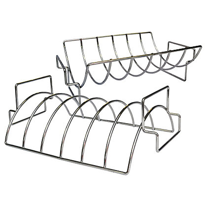 Image for BBQ Buddy Roasting Rack Reversible Rib from StoreName