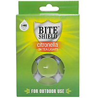 Candle Citronella Tea Light (Pack of 24)