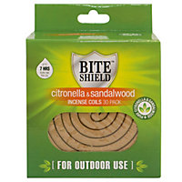 Incense Coil Citronella / Sandalwood (Pack of 30)