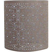 Alexia Cylinder Shade - Taupe