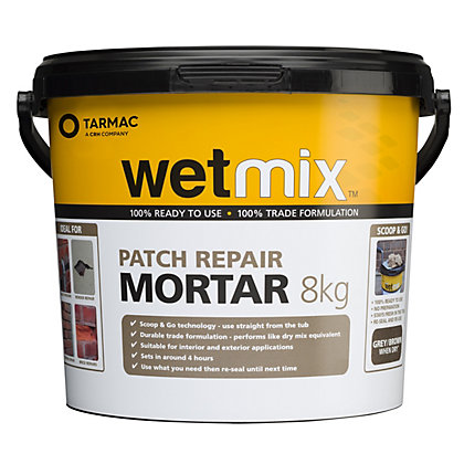 Image for Tarmac Wet Mix Ready Mixed Mortar - 8kg from StoreName