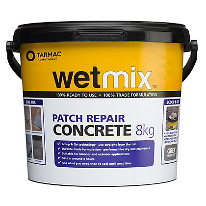 Image for Tarmac Wet Mix Ready Mixed Concrete - 8kg from StoreName