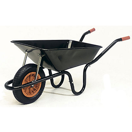 Image for Builders Wheelbarrow - Black from StoreName
