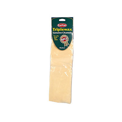 Image for Carplan Triplewax Genuine Chamois - Medium from StoreName