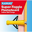 Plasplugs Super Toggle Fixings Clip Pack