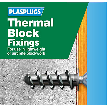 Image for Plasplugs Thermal Block Clip Pack & Drill & Driver from StoreName