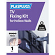 Plasplugs TV Hollow Fixing Kit