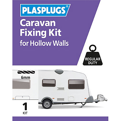 Image for Plasplugs Hollow Door & Caravan Fixing Kit from StoreName