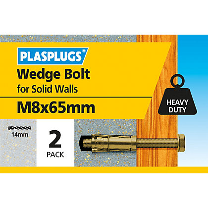 Image for Plasplugs Anchor Bolt M8 x 65mm from StoreName