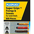Plasplugs Wall Plugs Mixed Bulk - Pack of 1000