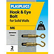 Plasplugs Hook Bolt M6