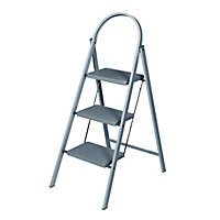 Abru 3 Tread Stepstool Grey