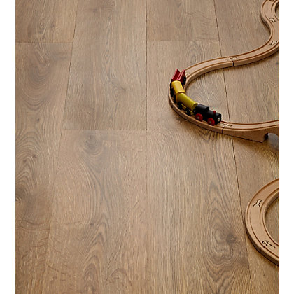 Image for Just The Job Sagana Oak Laminate Flooring from StoreName