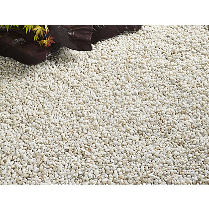 Image for Stylish Stone Premium Alpine White Chippings - Large Pack from StoreName
