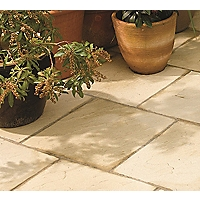 Stylish Stone Winchester Paving 450 x 450mm - Cream