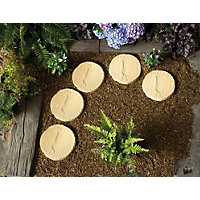 Stylish Stone Stepping Stone 300mm - York Gold