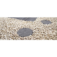 Stylish Stone Natural Stepping Stone 300mm - Charcoal