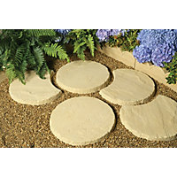 Stylish Stone Stepping Stone 450mm - York Gold