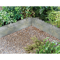 Stylish Stone Full Rope Top Edging 575mm - Antique