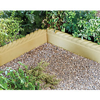 Stylish Stone Full Rope Top Edging 575mm - York Gold