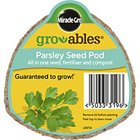 Miracle-Gro Gro-Ables Parsley Seed Pod