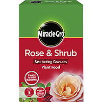 Miracle-Gro Rose & Shrub Fast Acting Plant Food Granules - 3kg