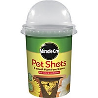 Miracle-Gro Pot Shots All Purpose 6 Month Plant Food Cones