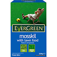 Evergreen Mosskil With Lawn Food - 80M2 Box