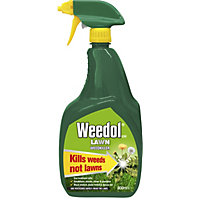 Weedol Gun! Lawn Ready To Use Weedkiller - 800ml