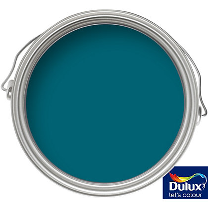 Image for Dulux Feature Wall Teal Tension - Matt Emulsion Paint - 50ml Tester from StoreName