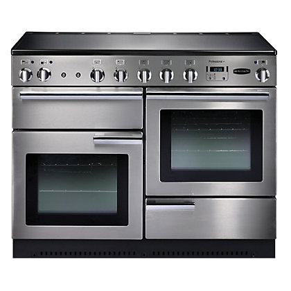 Image for Rangemaster Professional Plus Electric Cooker - Silver from StoreName