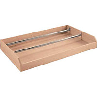 Schreiber Double Internal Pull Out Drawer and Shoe Rail