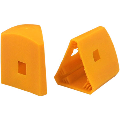 Image for Whites Steel Post Caps - Yellow from StoreName