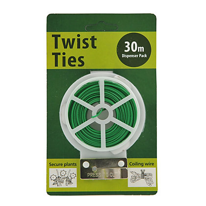Image for Whites Twist Tie Single Pack - Green / 30m from StoreName