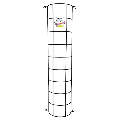 Image for Whites Plant Trainer Downpipe Trellis - 90cm / Black from StoreName