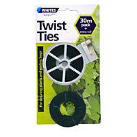 Whites Twist Ties - 30m Pack Plus Bonus 30m Roll
