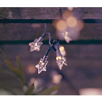 35 Star Solar String Lights
