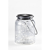Solar Fairy Jar Glass - Medium