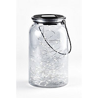 Solar Fairy Glass Jar - Large