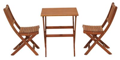 Image for Austin Wooden Bistro Set from StoreName