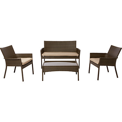 Rattan Conservatory Chairs Corner Sofas Sets At Homebase