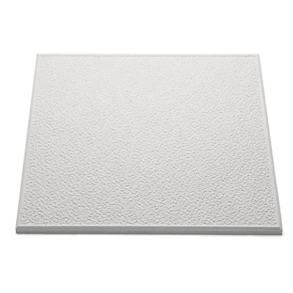 stipple ceiling tiles white coverage 2 sq m. Black Bedroom Furniture Sets. Home Design Ideas