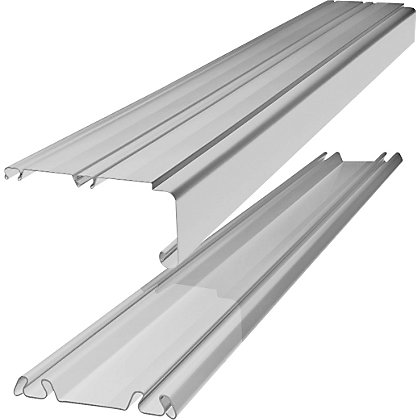 Image for White Sliding Door Track Set - 3606mm from StoreName