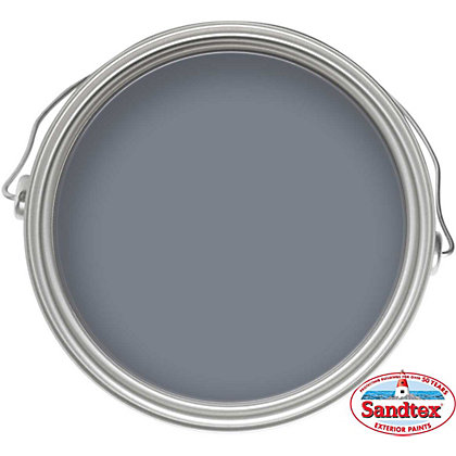 Image for Sandtex Microseal Smooth Masonry Paint Vermont Grey - 2.5L from StoreName