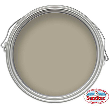 Image for Sandtex Microseal Smooth Masonry Paint  French Grey - 5L from StoreName