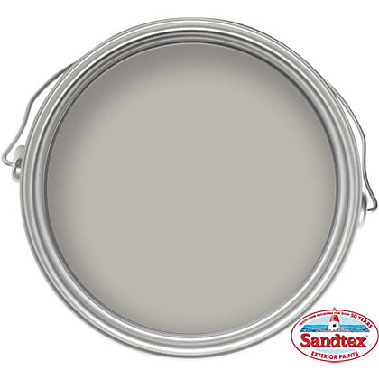Image for Sandtex Microseal Smooth Masonry Paint Plymouth Grey - 10L from StoreName