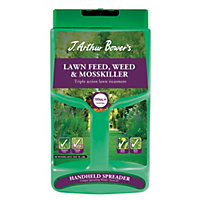 J Arthur Bowers Lawn Feed, Weed and Moss Killer - 100m2 Spreader