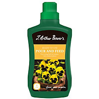J Arthur Bowers Ready To Use Pour and Feed Plant Food - 1L